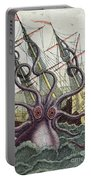 Giant Octopus Portable Battery Charger by Denys Montfort