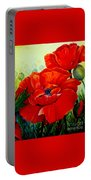 Giant Poppies 3 Portable Battery Charger