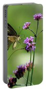 Giant Swallowtail Butterfly On Verbena Portable Battery Charger