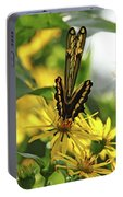 Giant Swallowtail Wings Folded Portable Battery Charger