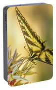 Giant Swallowtail With Yosemite Showy Milkweed Portable Battery Charger