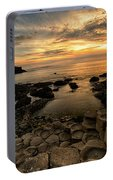 Giants Causeway Sunset Portable Battery Charger