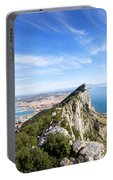 Gibraltar Rock Bay And Town Portable Battery Charger