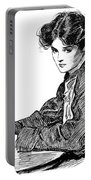 Gibson: Drawings, C1900 Portable Battery Charger