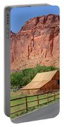 Gifford Homestead Barn - Capitol Reef National Park Portable Battery Charger