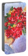 Gift A Bouquet - Bougenvillea Portable Battery Charger