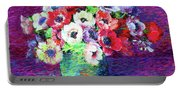 Gift Of Anemones Portable Battery Charger