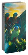 Gimie Dawn 1 - St. Lucia Parrots Portable Battery Charger