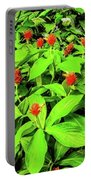 Ginger Flowers Portable Battery Charger
