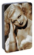 Ginger Rogers, Actress Portable Battery Charger
