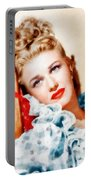 Ginger Rogers By John Springfield Portable Battery Charger