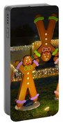 Gingerbread Men Gymnastics Portable Battery Charger