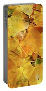 Ginkgo Biloba Leaves Portable Battery Charger