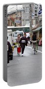 Gion District Street Scene Kyoto Japan Portable Battery Charger