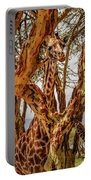 Giraffe Camouflage Portable Battery Charger