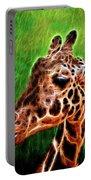 Giraffe Fractal Portable Battery Charger
