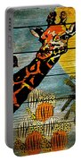 Giraffe Rustic Portable Battery Charger