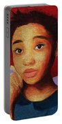 Girl 1 Portable Battery Charger