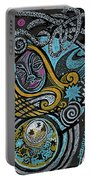 Girl In The Moon Portable Battery Charger