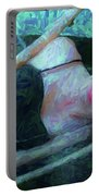 Girl In The Pool 23 Portable Battery Charger