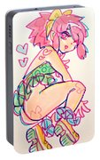 Girl01 Portable Battery Charger