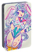 Girl02 Portable Battery Charger