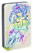 Girl04 Portable Battery Charger
