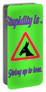 Giving Up Bigstock Donkey 171252860 Portable Battery Charger