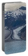 Glacial Curves Portable Battery Charger