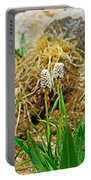 Glacial Wildflowers Portable Battery Charger