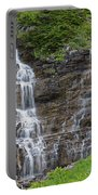 Glacier Waterfalls Portable Battery Charger