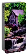 Glade Creek Grist Mill 004 Portable Battery Charger