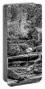Glade Creek Grist Mill 3 - Paint 2 Bw Portable Battery Charger