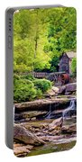 Glade Creek Grist Mill 3 - Paint Portable Battery Charger
