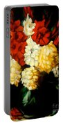 Gladiolas Portable Battery Charger