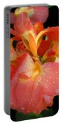 Gladiolus Bloom Portable Battery Charger
