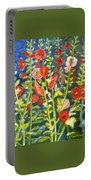 Gladiolus, 11x14, Oil, '07 Portable Battery Charger