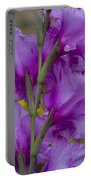 Gladiolus Rear View Portable Battery Charger