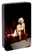 Glance At Hollywood - Marilyn Monroe Portable Battery Charger
