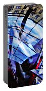 Glass Abstract 219 Portable Battery Charger