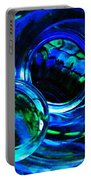 Glass Abstract 226 Portable Battery Charger by Sarah Loft
