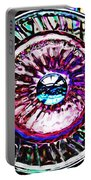 Glass Abstract 516 Portable Battery Charger