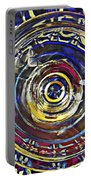 Glass Abstract 587 Portable Battery Charger