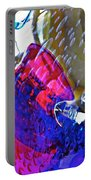 Glass Abstract 609 Portable Battery Charger
