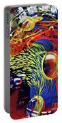 Glass Abstract 630 Portable Battery Charger