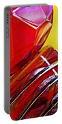 Glass Abstract 649 Portable Battery Charger