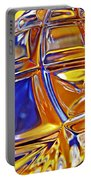 Glass Abstract 768 Portable Battery Charger