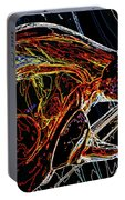 Glass Abstract Portable Battery Charger