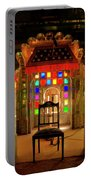 Glass And Mirror Room City Palace Udaipur Portable Battery Charger