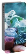 Glass And Stone Portable Battery Charger